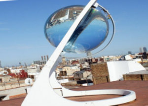 Spherical Solar Power Generator